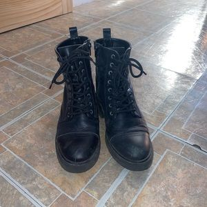 Aldo combat boots